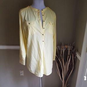 Soft Surroundings Yellow Tunic XL